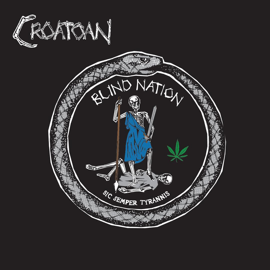bl art Speed metal outfit Croatoan turn an eye on the Blind Nation with new song    listen