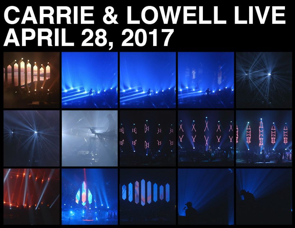 cl live announce Sufjan Stevens announces Carrie & Lowell live album