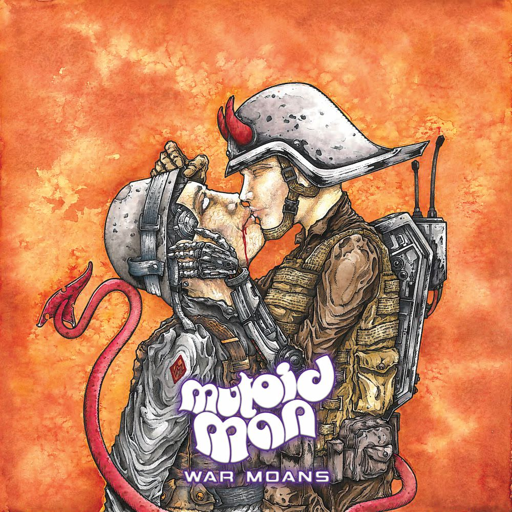 mutoid man war moans Mutoid Man announce new album, War Moans, share blistering Melt Your Mind    listen