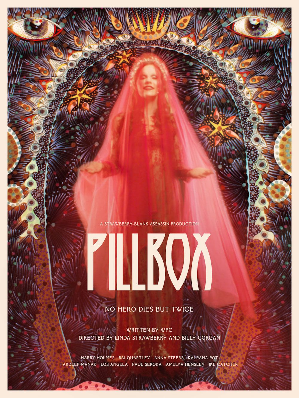 pillbox poster v2 Billy Corgan announces new film Pillbox, shares trailer: Watch
