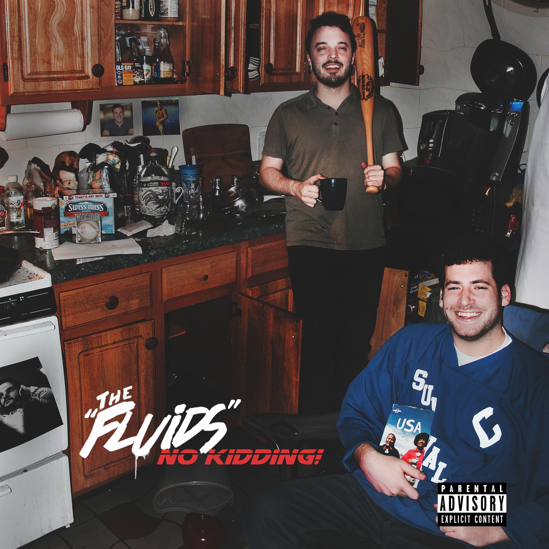 the fluids no kidding cover art The Fluids announce debut album, No Kidding!, share the Origins of lead single, Creatures: Stream