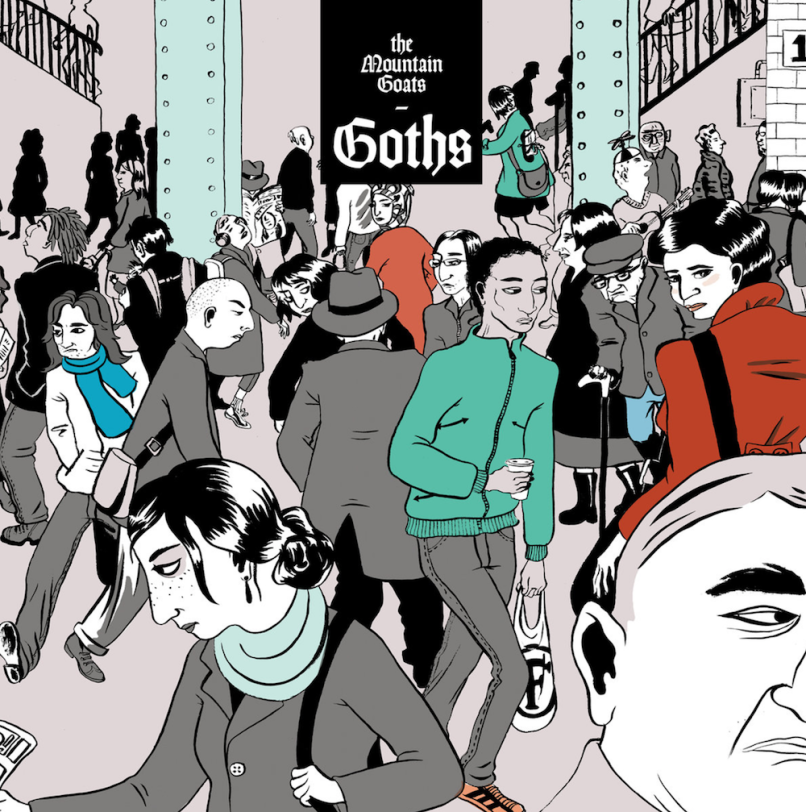 the mountain goats goths stream listen album new mp3 The Mountain Goats release new album Goths: Stream