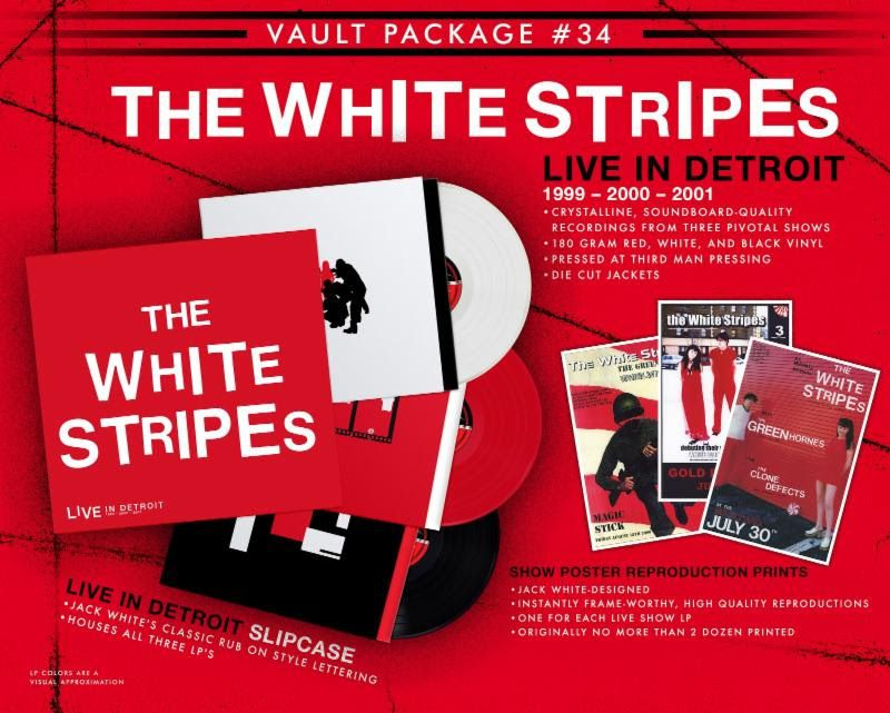 unnamed 98 The White Stripes to reissue first three albums on cassette tape for first time