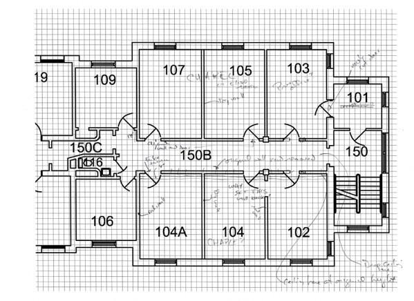 Sayre 1st floor drawings  2